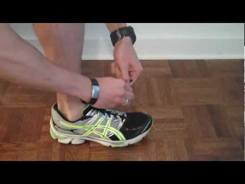 Triathlon Training Shoe with Spring Clip and Native Shoe Lace | Chris Johnson PT