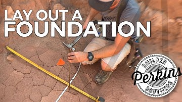 How To Lay Out A Foundation