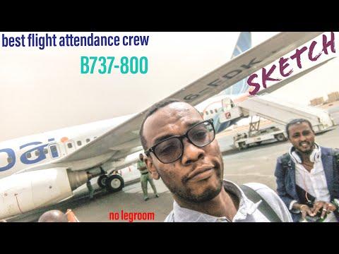 Fly Dubai B737-800 [TRIP REPORTS] From DXB-KRT