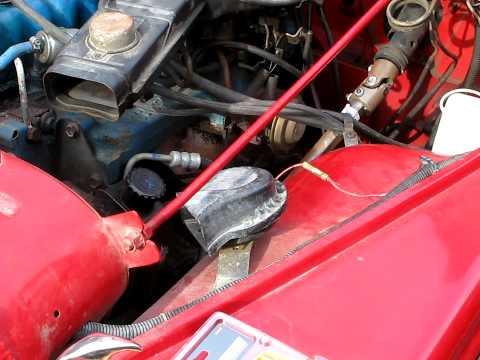 1980 Jeep CJ7 Stock Horn  YouTube