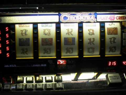 cleopatra slot machine for sale