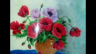 Эльза Колесникова. Картины на стекле.(, 2017-03-13T18:47:17.000Z)