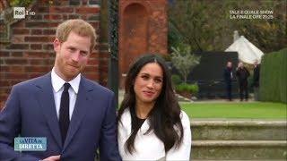 Harry e Meghan, la prima uscita ufficiale in pubblico - La vita in diretta 01/12/2017