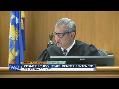 Former Menomonee Falls High School staff member sentenced