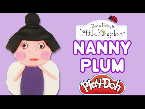 who plays nanny plum in ben and holly
