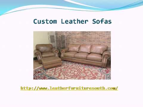 Leather Furniture Direct - Western Leather Sofa