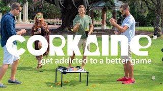 Corkaine - The Better Lawn Game With Over a Dozen Games in One