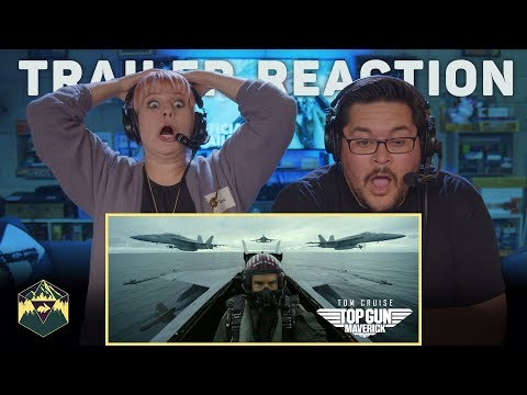 Top Gun: Maverick - Official Trailer Reaction