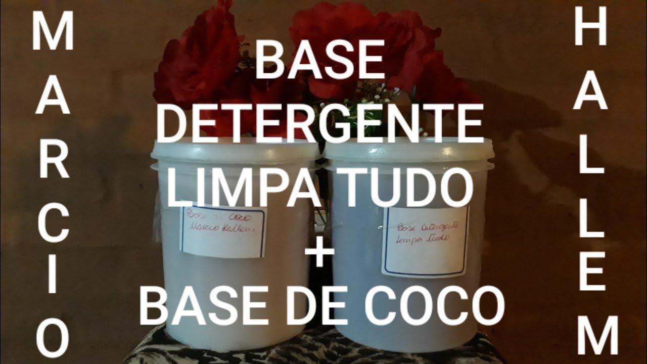 BASE P/DETERGENTE LIMPA TUDO+BASE DE COCO
