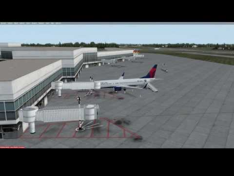 P3D Flight from Baltimore to New York