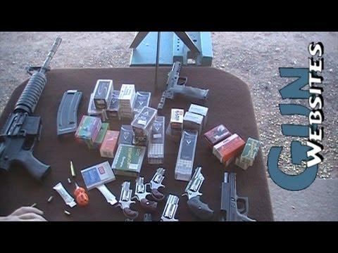 .22 lr AR15 Ammo Test