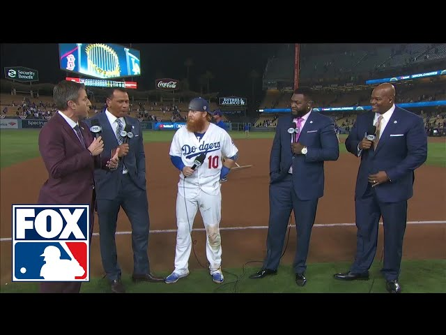 Justin Turner joins MLB on FOX to break down an absolutely epic World Series Game 3 | FOX MLB