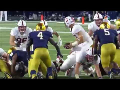 2016 Notre Dame vs Stanford