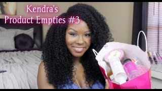 Kendra's Product Empties #3- Hair Care, Skincare, Fragrances & More Thumbnail