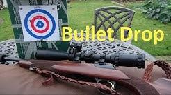 Bullet Drop .22lr 50 - 100 Metres #rangetime