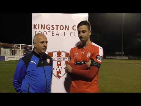 Post match interview with Simo Jovanovic after the Kingston City FC v Heidlberg United game   Copy