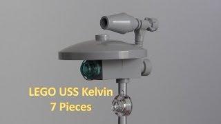 كيفية بناء ليغو ستار تريك USS كلفن 7 قطع
