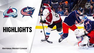 nhl-highlights-avalanche-blue-jackets-2-8-20
