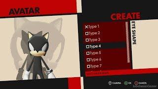 Sonic Forces - Custom Hero Avatar Character Creator