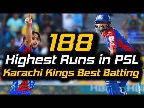 Karachi Kings Best Batting Ever in PSL | Karachi Kings Vs Multan Sultans | Full Match | HBL PSL 2018