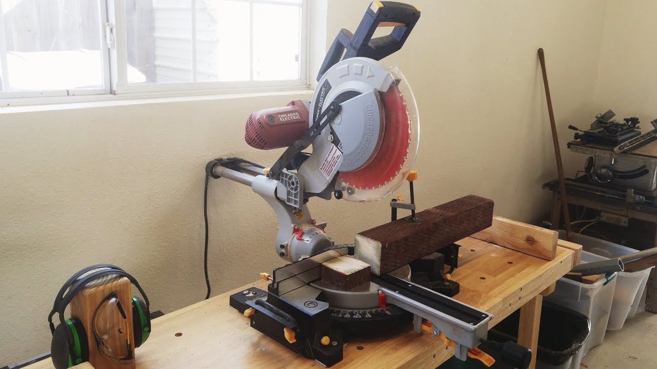 Chicago Electric 10 Sliding Compound Miter Saw