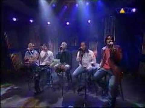 Backstreet Boys- Shape Of My Heart (LIVE)