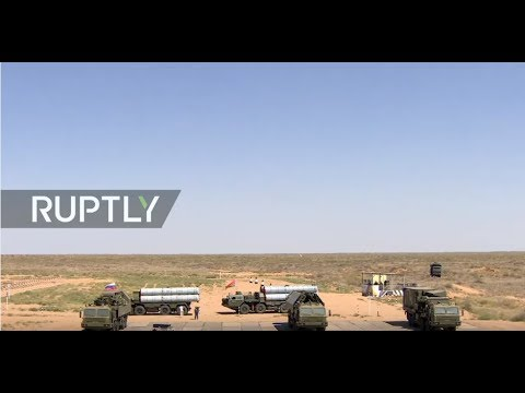 LIVE: 'Sky keys': anti-aircraft missiles light up Army Games 2017