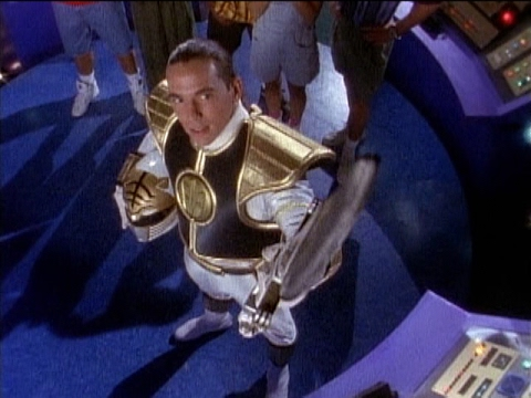 White Ranger's First Scene and Morph in Mighty Morphin Power Rangers