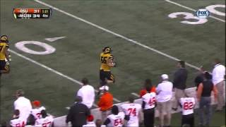 Oklahoma State fumbles and Gus Johnson goes nuts