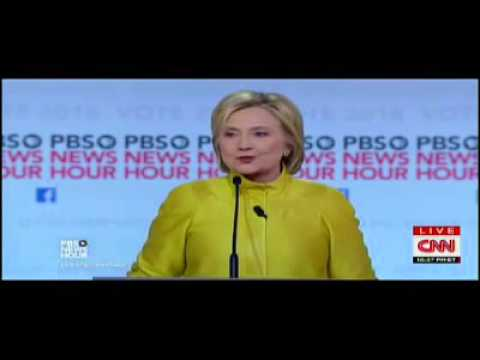 FULL PBS Democratic Debate P3/3: Hillary Clinton VS Bernie Sanders Feb. 11, 2016 (6th Dem