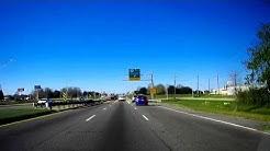 Road Trip #095 - US-61 North - LA-42 to US Highway 190 - Baton Rouge, Louisiana