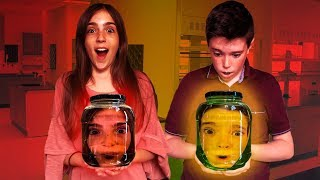 HEADS STUCK IN A JAR!!