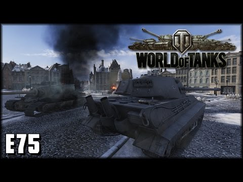 World of Tanks - Live: E75 - deutscher Stahl [ deutsch | gameplay ]