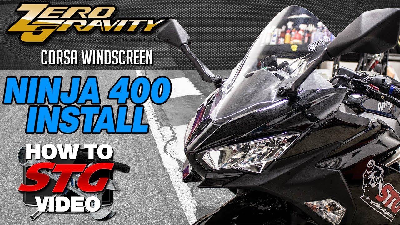 2018 Kawasaki Ninja 400 STG How To Project Bike Build from