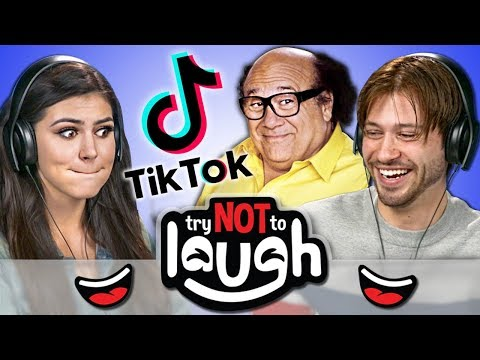 Try to Watch This Without Laughing or Grinning 99: TikTok Edition React