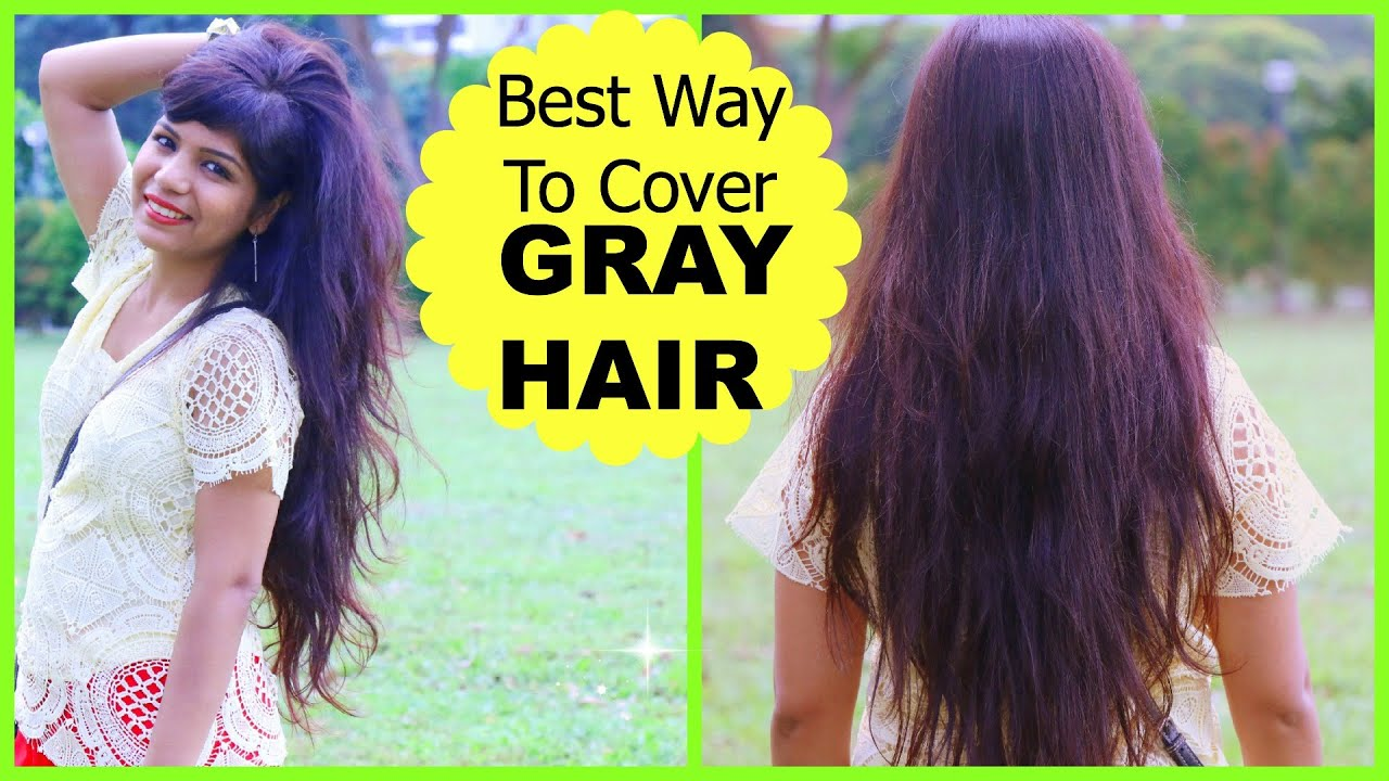 Best Way To Cover GRAY HAIR, How to Mix Henna Mehendi for ...