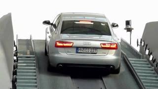 Munich Airport - AUDI A6 Quattro Hill Start Stunt