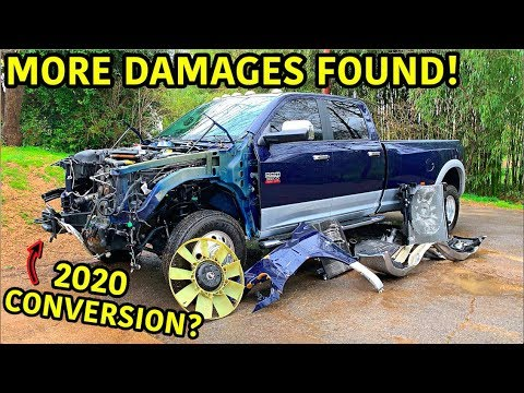 Building My Dad His Dream Wrecked Truck Part 2
