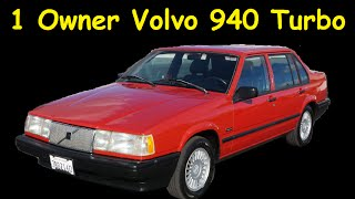 1992 Volvo 940 SE Turbo Car Review Video 740 760 960 Series Cars