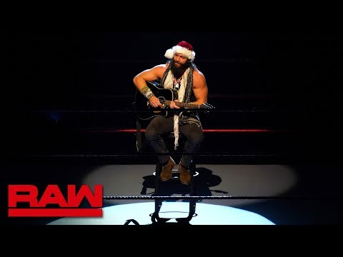 Elias debuts a new Christmas classic: Raw, Dec. 24, 2018