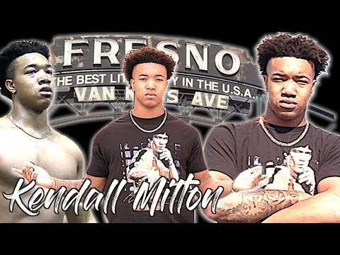 Kendall Milton | A Day in the Life of The 5 Star Running Back From Fresno California