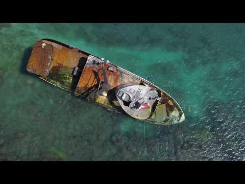 Pacific Paradise Shipwreck off Kaimana Beach, Waikiki, Hawaii
