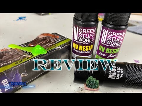 UV Resin Review from Green Stuff World