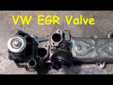 VW Golf VI EGR Valve Removal / VW Golf Mk 6 EGR Valve Removal