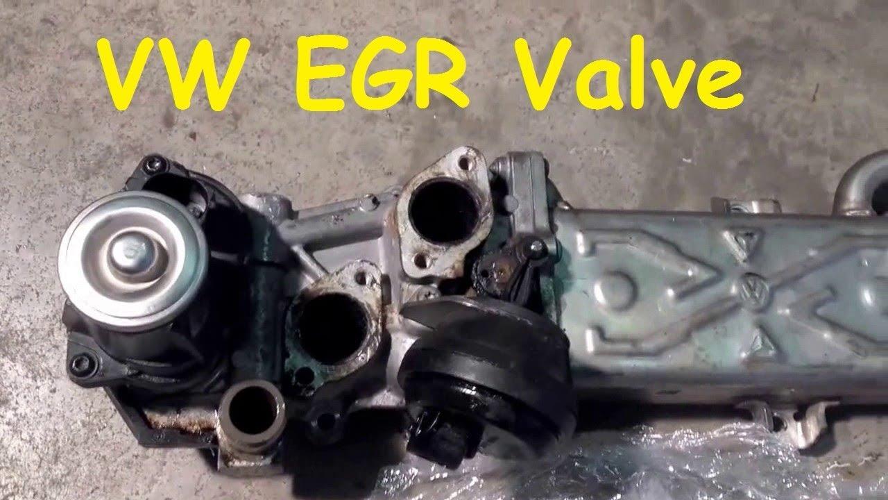 Enorm VW Golf VI EGR Valve Removal / VW Golf Mk 6 EGR Valve Removal ZP-94