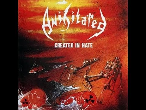ANIHILATED Created in Hate (full album)