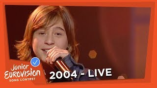 Thomas - Si On Voulait Bien - France - 2004 Junior Eurovision Song Contest