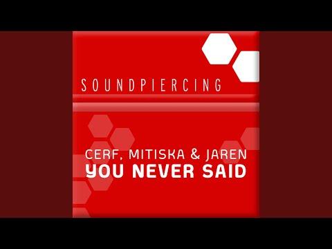 You Never Said (Original Mix)
