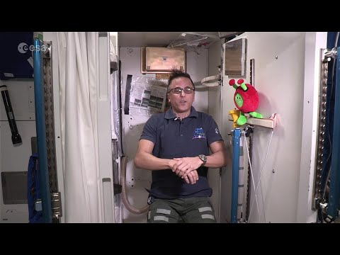 Space Station Living: Turning Urine Into Drinking Water And Recycling Air
