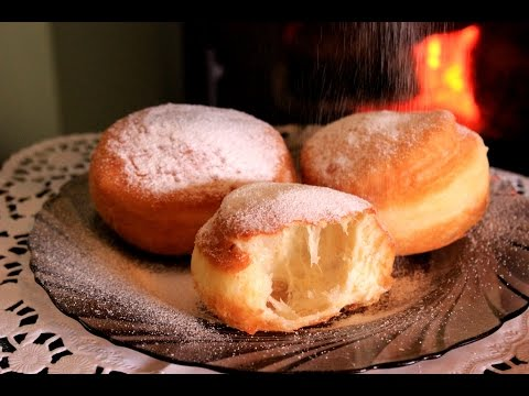Posne krofne - How to make Donuts